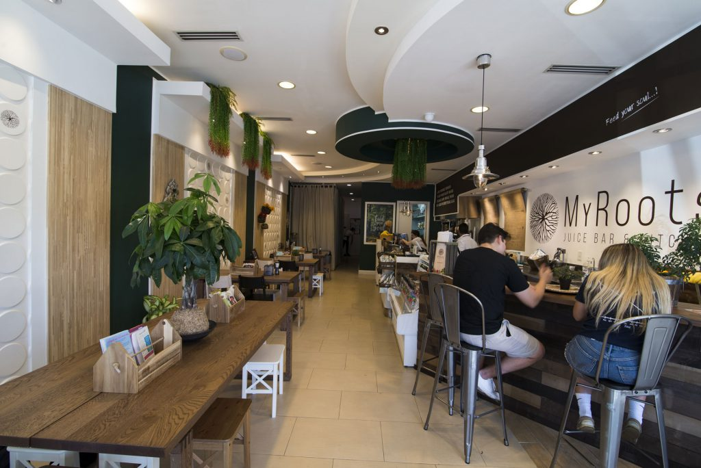 MyRoots Juice Bar & Kitchen in Doral, Florida